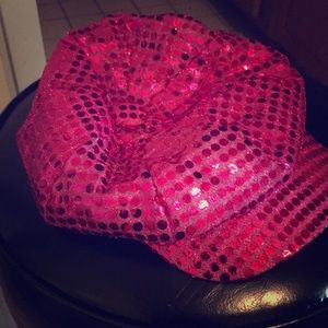 Accessories - Girly Pink Sparkle HAT